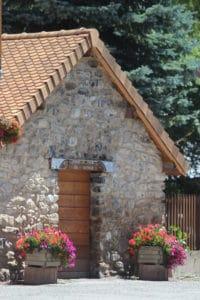 Four à pain communal Ancelle Mairie Champsaur Valgaudemar Hautes Alpes Ancelle Station