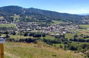 Trail Ancelle Mairie Champsaur Valgaudemar Hautes Alpes Ancelle Station