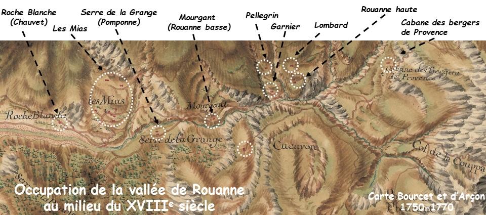 vallée de Rouanne2 - Ancelle et ses hameaux