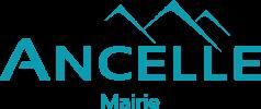 LOGO Ancelle Mairie Bleu Champsaur Valgaudemar Hautes Alpes Ancelle Station